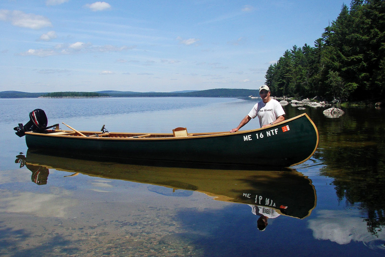Classic grand lake canoe photographs the maine for Fishing kayaks for sale near me