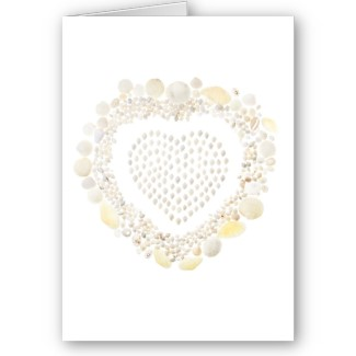 White Shell Valentine by Quercus Design