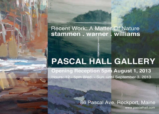 Exhibition on view at Pascal Hall