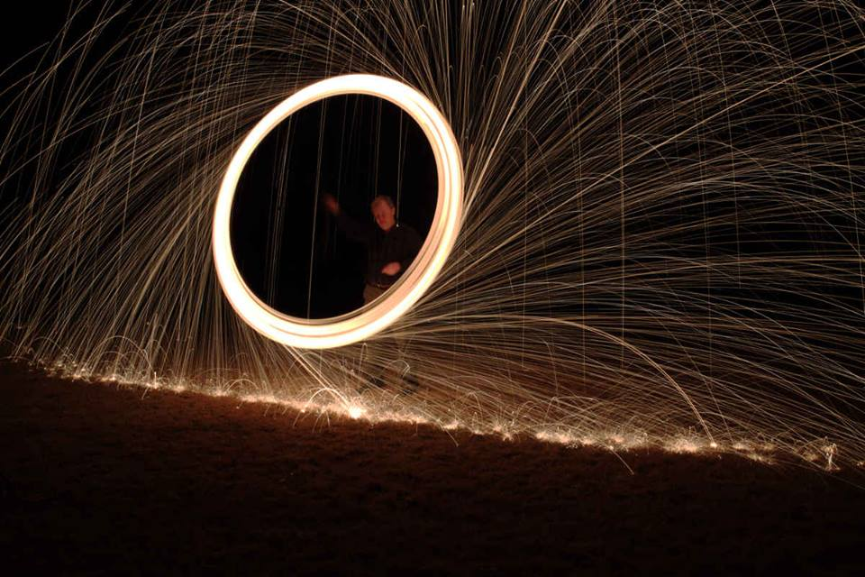 Steel wool is flammable. Who knew?