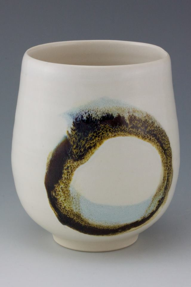 These cups just came out of the kiln. They feel great.
