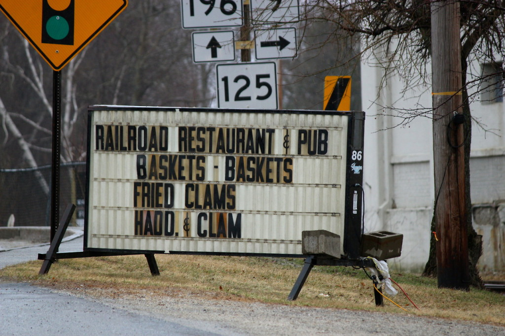 railroad restraurant and pub