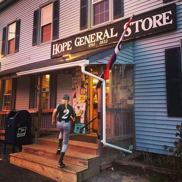 No post game would be complete without a stop at the Hope General Store